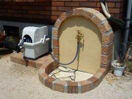 福岡県 M様邸 立水栓施工例