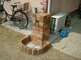 福岡県 T様邸 立水栓施工例