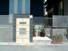 福岡県福岡市城南区 U様邸 門まわり施工例