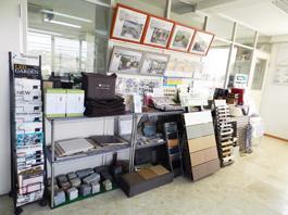 福岡県春日市 エクステリア ガーデニング 太陽ハウジング 会社概要 オフィスの内観 の画像です