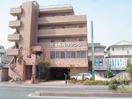 福岡県春日市 エクステリア ガーデニング 太陽ハウジング 会社概要 オフィスの外観 の画像です