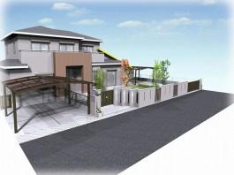 福岡県 H様邸 門まわり施工例